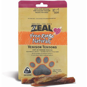 Zeal - 100% Natural Free Range & Wild Caught Air-Dried Venison Treats