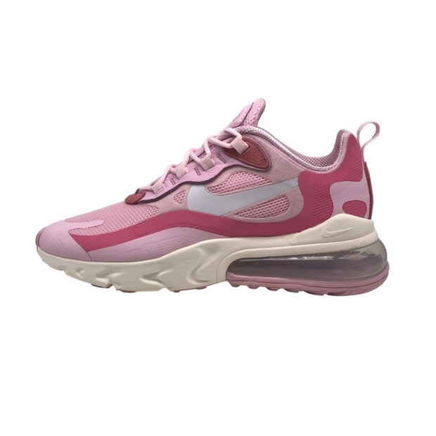 Nike Air Max 270 React Womens Pink Foam Sneakers