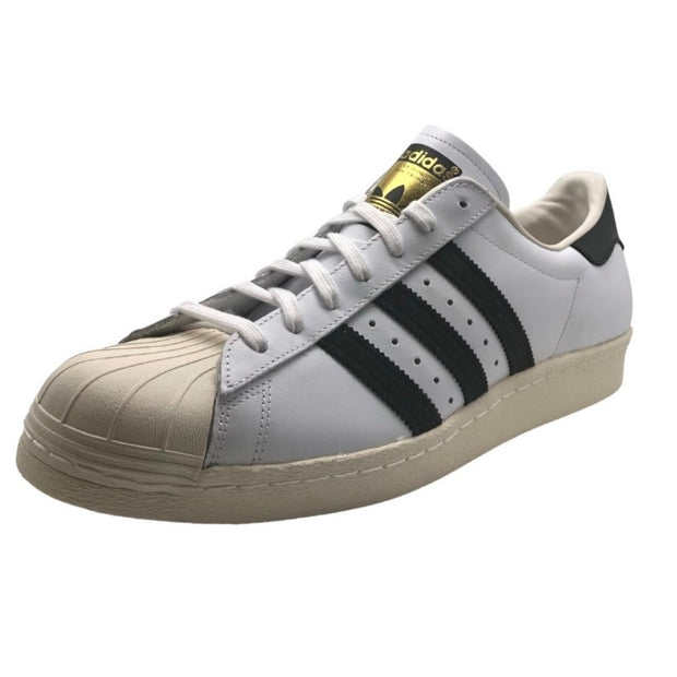 Adidas Superstar 80s Mens White Sneakers