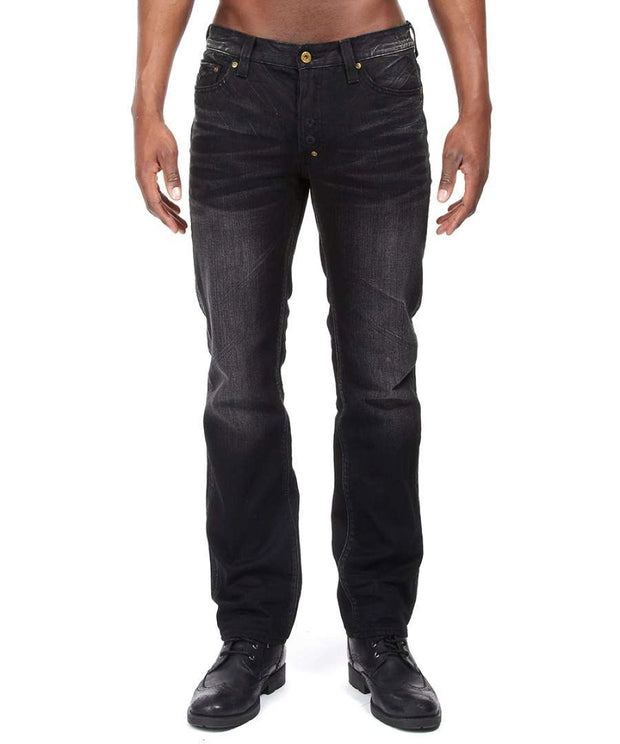 PRPS Goods and Co. Rambler Black Jeans - Nova Designer Clothing Luxury Mens