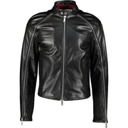 DSquared2 S71AM0662 SX9490 900 Leather Jacket