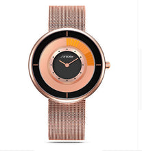 Load image into Gallery viewer, SINOBI Fashion Unique Rotating Luxury Ultra-thin Steel Watch