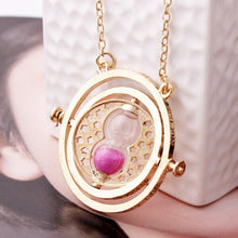 Load image into Gallery viewer, Rotating Time Turner Necklace