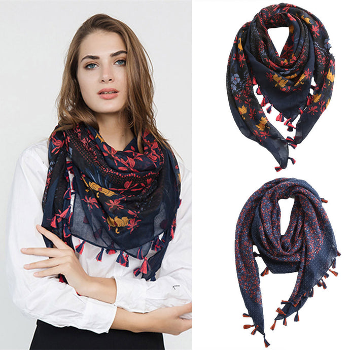 Fashion Women Scarves Shawl Print Square Scarves Hijab Shawls Blanket Scarf