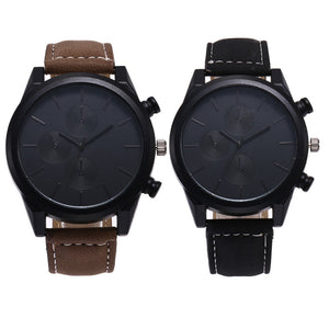 Men's And Women's Fashion Classic Quartz Stainless Steel Watch