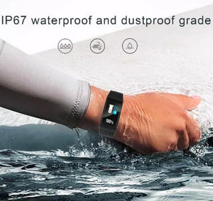 F601 Smart Watch Colorful Screen Waterproof Bluetooth Sport Fitness Tracker