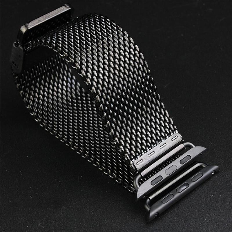 38/42mm Stainless Steel Watch Band Strap For Apple Watch