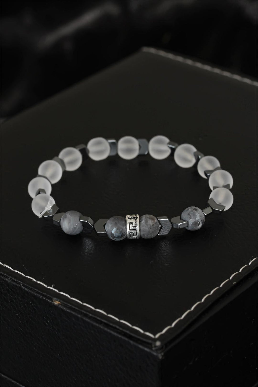 Men's Quartz Natural Stone Bracelet