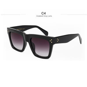 Fashion Sunglasses Women Luxury Vintage Sun glasses Female Rivet Shades Big Frame Style Eyewear xx268