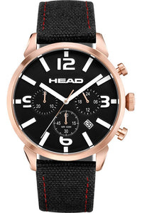 HEAD Backhand Watch - Gents Quartz Chronograph