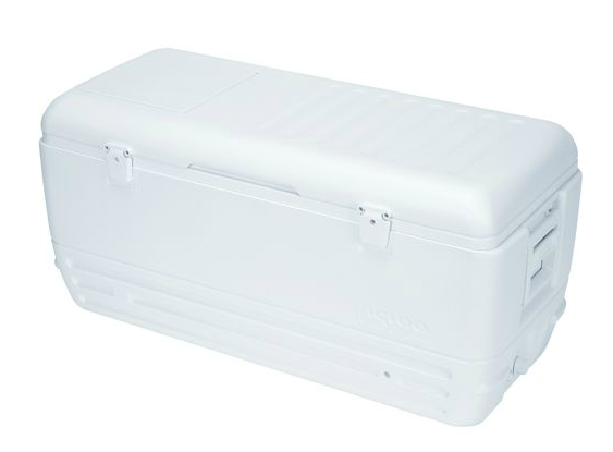 150 Quart White Cooler