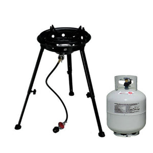 wok stand and burner