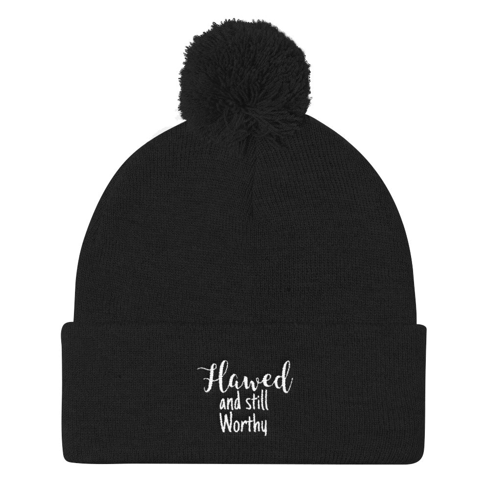 Flawed and still worthy- Pom Pom Knit Cap
