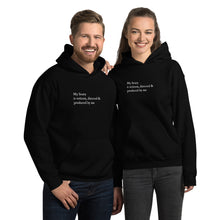 Load image into Gallery viewer, My Story is written, directed & produced by me Unisex Hoodie