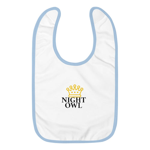 Night OWL (Baby Bib)