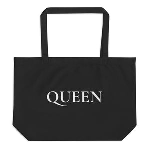 Large Organic tote Bag - Queen