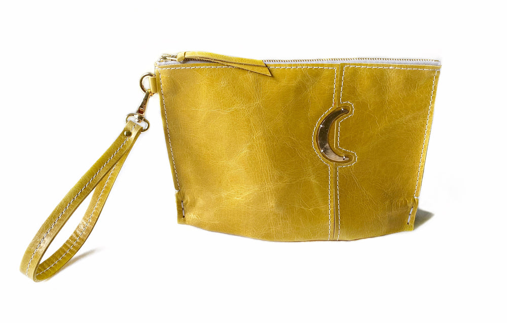 Sunflower Moon Small Clutch Front