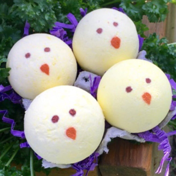 Mini Chicks Bath Bomb 4 Pack