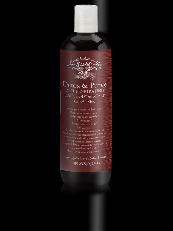 Detox & Purge Hair, Body and Scalp Cleanser