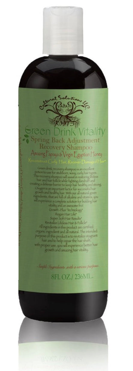 Green Drink Vitality, Adjustment, & Recovery Shampoo