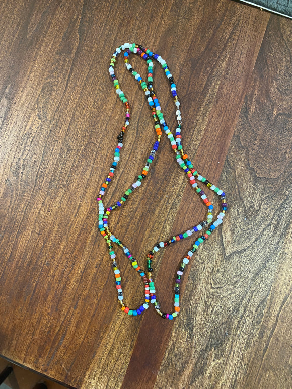 Multi Colored Waist Beads- M