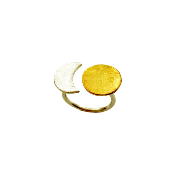 PREORDER- Sun Moon Ring