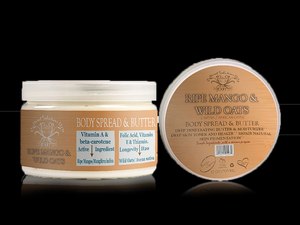Ripe Mango & Wild Oats Body Butter