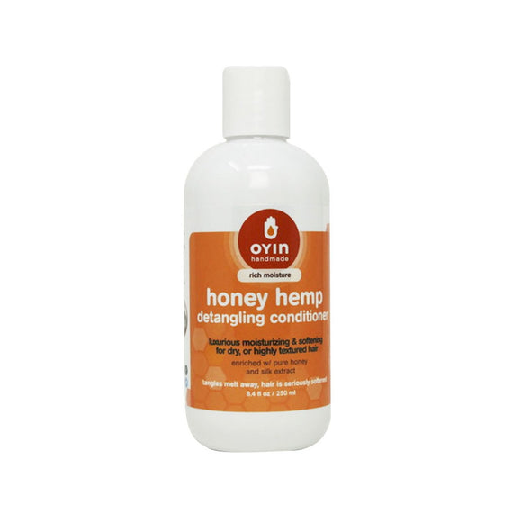 Honey Hemp Detangling and Moisturizing Hair Conditioner