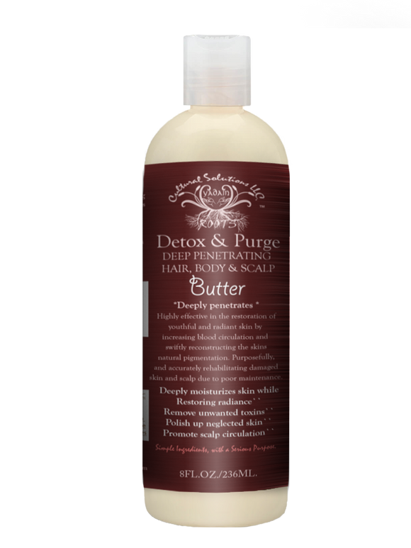 Detox & Purge Hair, Body and Scalp Butter Spread