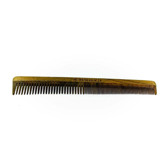 Dual Threat Wooden Comb