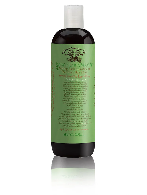 Green Drink Vitality Recovery Hair Mask and Deep Conditioning Hair Treatment