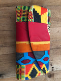 Multi Colored African Clutch Purse