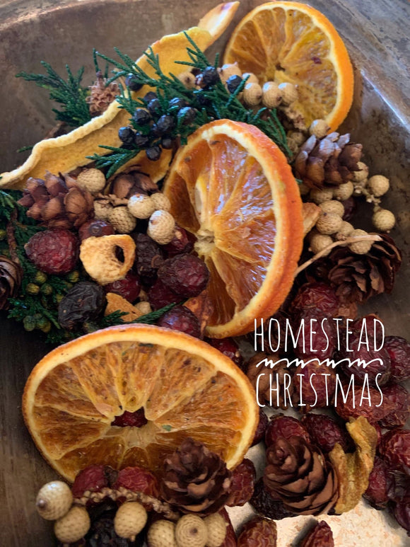 Homestead Christmas Potpourri