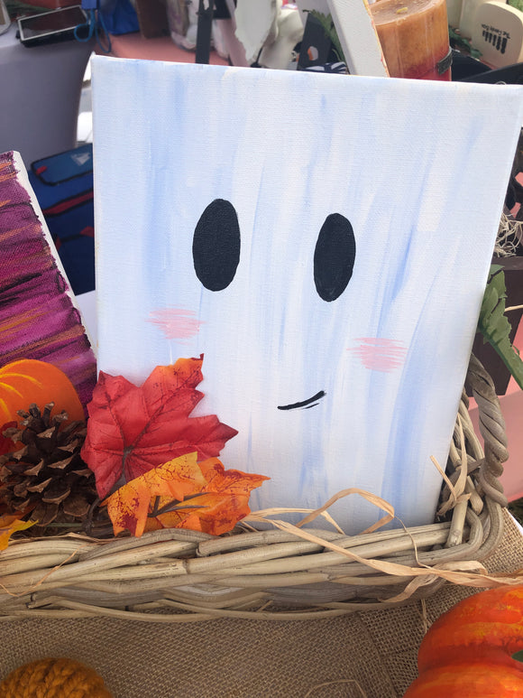 Friendly Ghost Painting