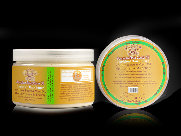 Jamaican Black Castor Oil Hair Butter