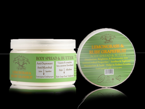 Lemongrass & Grapefruit Body Butter