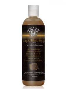 100% Raw Liquid Black Soap Original