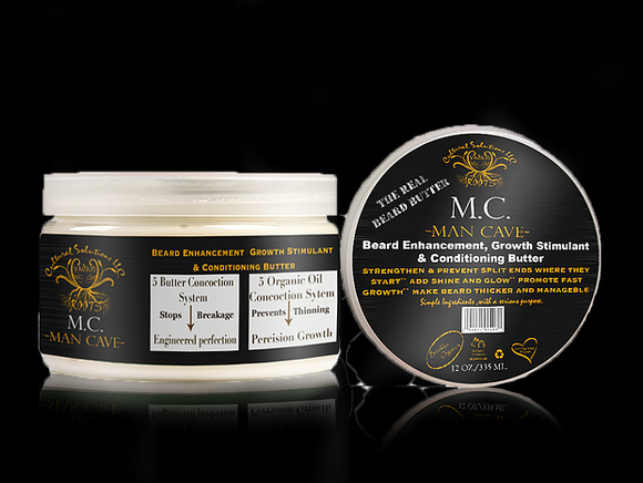 Man Cave Beard Butter