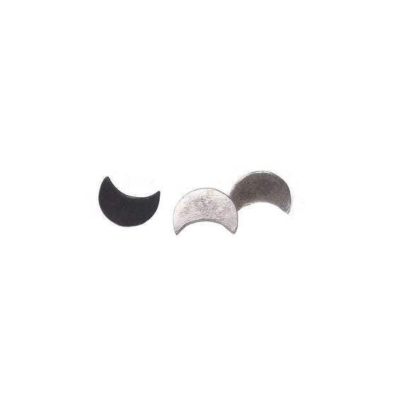 PREORDER-Moon Stud Earrings