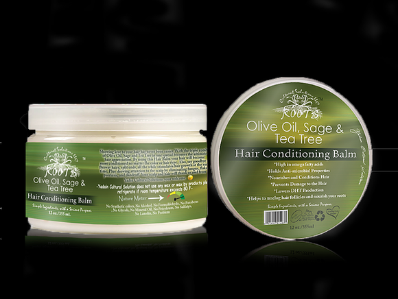 Olive Oil, Sage & Tea Tree Hair Butter
