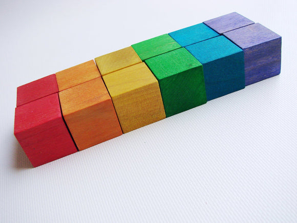 Rainbow Stacking Blocks Set