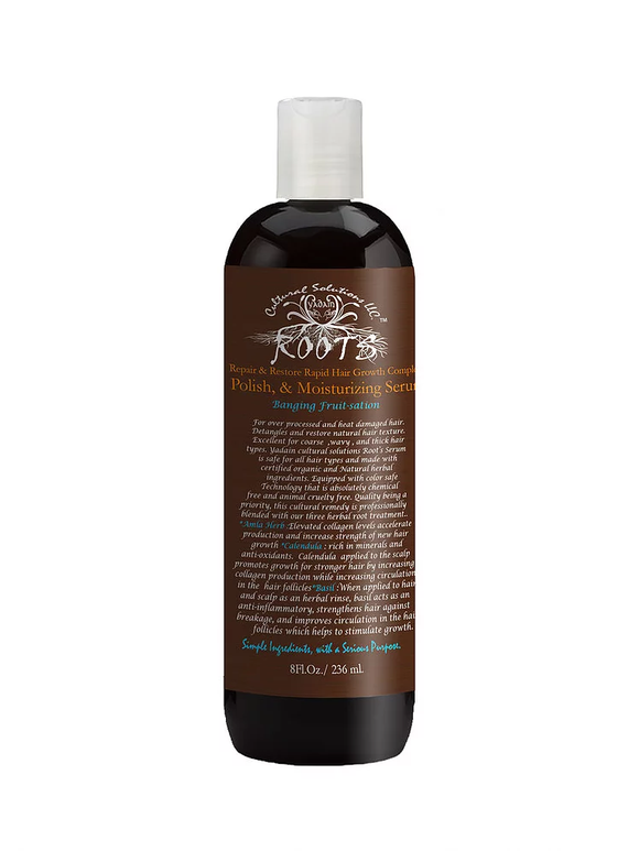 Roots Polish and Deep Moisturizing Hair Serum