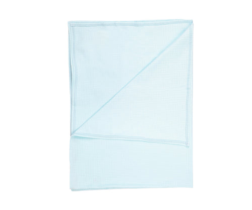 Organickid Organic Cotton Muslin Wrap - Blue