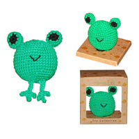 Organic Cotton Toy - Green Frog