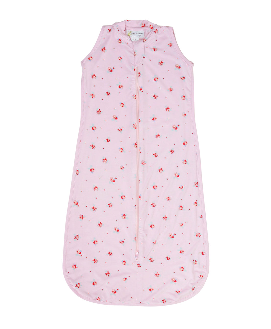 Bamboo Sleeping Bag 6-18 Months - Pink Floral