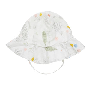 Bamboo Muslin Sun Hat - Pretty Plants