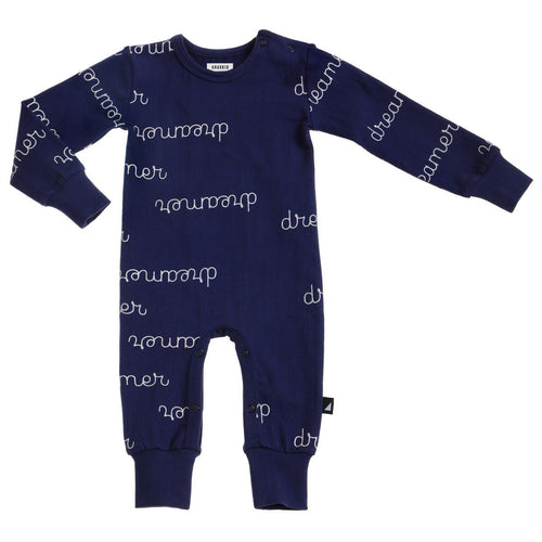 Anarkid Organic Cotton Bodysuit - Navy Dreamer