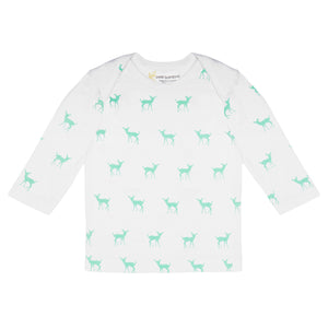 Bamboo Long Sleeve Top - Deer Green