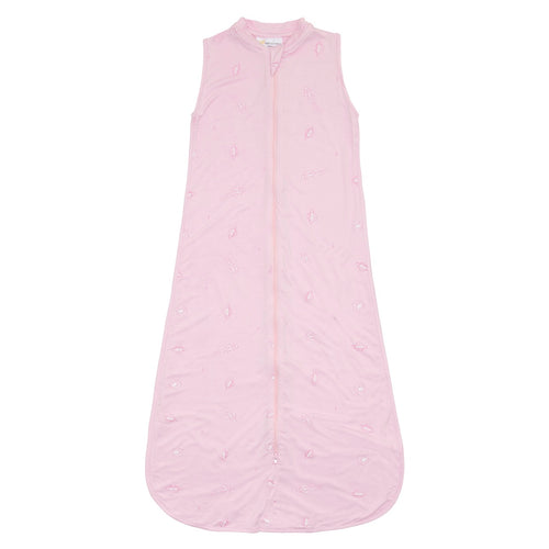 Bamboo Sleeping Bag 6-18 Months - Pink Space