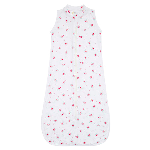 Bamboo Sleeping Bag 6-18 Months - White Floral